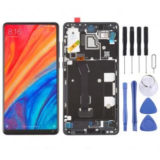 Für Xiaomi Mi MIX 2S Reparatur Display LCD Komplett Einheit mit Rahmen Schwarz
