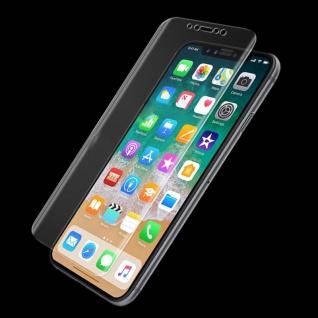 2x Hybrid TPU gebogene Panzerfolie Folie Schutz für Apple iPhone X / XS 5.8 Zoll