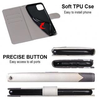 Für Xiaomi Redmi 9 Kunst-Leder Handy Tasche Motiv 2 Hülle Etuis Cover Schutz Neu