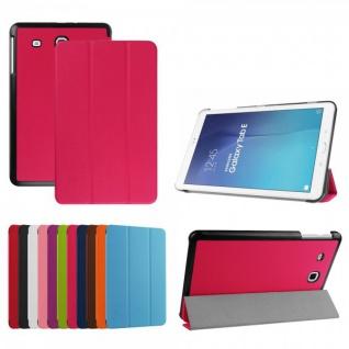 Smartcover Pink Cover Tasche für Samsung Galaxy Tab E 9.6 T560 Hülle Case Schutz