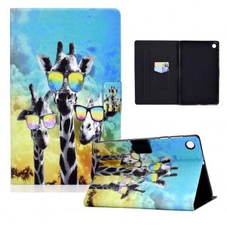 Für Lenovo Tab M10 Plus 10.3 Zoll X606F Motiv 8 Tablet Tasche Kunst Leder Etuis