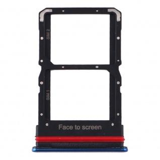 Für Xiaomi Mi 10 Lite Card Tray Sim Karten Halter Blau Ersatzteil Zubehör