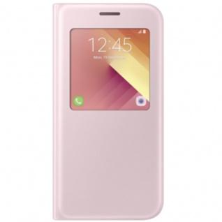 Samsung S View Wallet Tasche Kunstleder EF-CA520 für Galaxy A5 A520F 2017 Pink