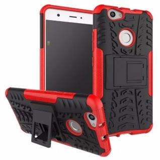 Hybrid Case 2teilig Outdoor Rot für Huawei Nova Tasche Hülle Cover Neu Schutz