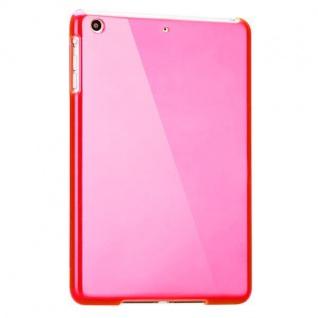 Hardcase Glossy Pink für Apple iPad Air Case Cover Hülle Schale Etui + Folie - Vorschau 2