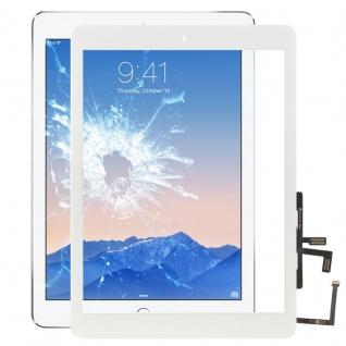 Für New Apple iPad 9.7 2017 Touch Glas Display Digitizer mit HB + Kleber Weiß