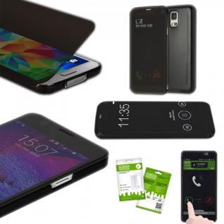 Original ROCK Smartcover Schwarz für Samsung Galaxy S5 G900 G900F Cover Zubehör