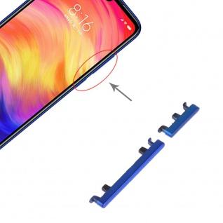 Power Volume Button Blau für Xiaomi Note 7 / Pro Lautstärke On Off Ersatzteil