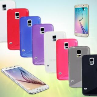 Silikonhülle S-Line Cover Case Kappe Hülle Zubehör Etui für viele Samsung Galaxy