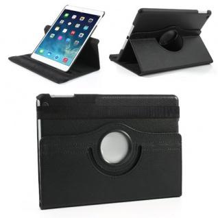 Design Tasche 360 Grad Rotation Case Zubehör für Apple iPad Air 2 Neu schwarz