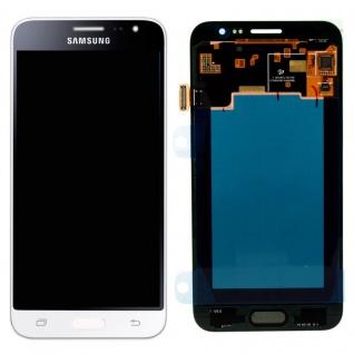 Display LCD Komplettset GH97-18414A Weiß für Samsung Galaxy J3 J320F 2016 Neu