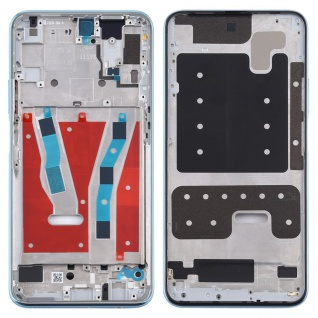 Mittelrahmen für Huawei P Smart Pro 2019 Blau Middle Frame Rahmen Gehäuse Ersatz