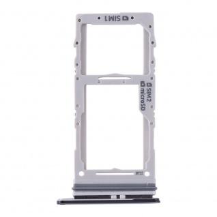 Dual Sim / Micro SD Karten Halter für Samsung Galaxy S20 Plus/S20 Ultra Schwarz