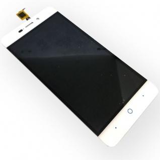 Ersatz Display LCD Komplett Einheit für ZTE Blade V7 Lite Reparatur Weiß Ersatz - Vorschau 4