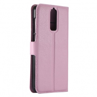 Tasche Wallet Premium Rosa für ZTE Blade A610 Plus Hülle Case Cover Etui Schutz - Vorschau 3