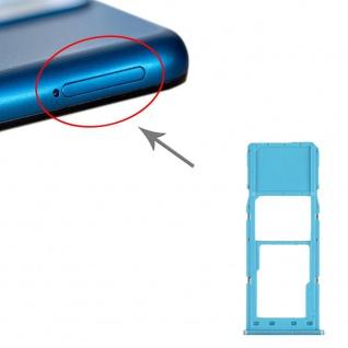 Sim Karten Halter für Samsung Galaxy A12 Grün Card Tray Micro SD Ersatzteil