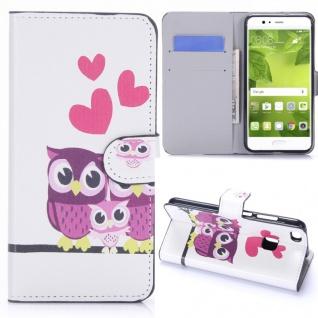 Schutzhülle Muster 22 für Huawei P10 Lite Bookcover Tasche Case Hülle Wallet Neu