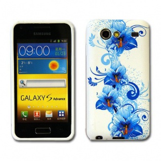 Silikonhülle Design Motiv Muster Hülle Case Schale Cover für HTC Handys Neu Top - Vorschau 5
