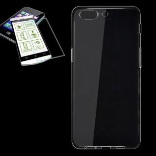 Silikoncase Transparent Tasche + 0, 3 H9 Panzerglas für ONEPlus 5 Hülle Neu Cover
