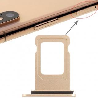 Für Apple iPhone XR 6.1 Zoll Sim Karten Halter Gold SD Card Ersatzteil Zubehör - Vorschau 4