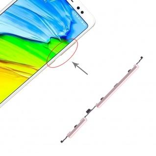 Power Volume Button Gold für Xiaomi Note 5 / Pro Lautstärke On Off Ersatzteil