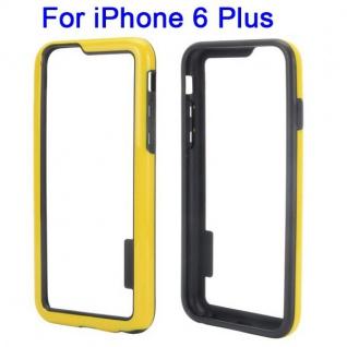 Hybrid Schutz Bumper Gelb Hülle Case Tasche für Apple iPhone 6 Plus 5.5 Neu Top