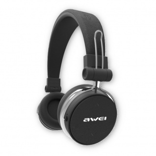 AWEI Bluetooth A700BL Schwarz Wireless Stereo Headset Kopfhörer Micro Zubehör