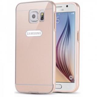 Alu Bumper 2 teilig Abdeckung Gold für Samsung Galaxy S6 G920 G920F Tasche Hülle