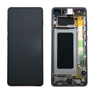 Samsung Display LCD Komplettset GH82-18849A Schwarz für Galaxy S10 Plus G975F - Vorschau 2