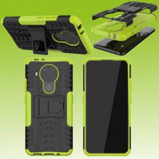 Für Nokia 5.4 Outdoor Grün Handy Tasche Etuis Hülle Cover Case Schutz Zubehör