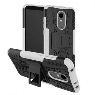 Hybrid Case Outdoor Weiß Tasche Hülle für Xiaomi Redmi 5 Plus Etui Cover Case