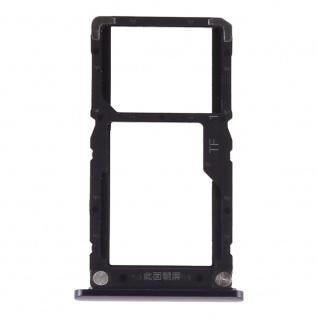 Sim Card Tray für Xiaomi Mi 8 Lite Blau Karten Halter Schlitten Ersatzteil Neu