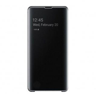 Samsung Flip Tasche Clear View EF-ZG973CBEGWW für Galaxy S10 G973F Cover Schwarz - Vorschau 4