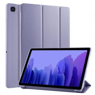 Flip Case Lila für Samsung Galaxy Tab A7 10.4 2020 Tasche Hülle Case Zubehör