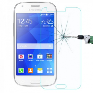 Premium 0, 3 mm H9 Panzerglas Tempered Glas Folie für Samsung Galaxy Ace 4 G313F 2