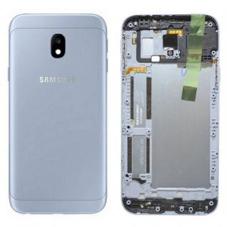 Samsung GH82-14891B Akkudeckel Deckel für Galaxy J3 J330F 2017 Silber Gehäuse