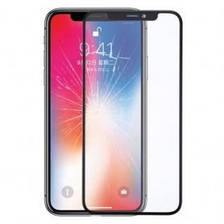 Displayglas Ersatztglas Schwarz für Apple iPhone X Reparatur Ersatzteil + Kleber