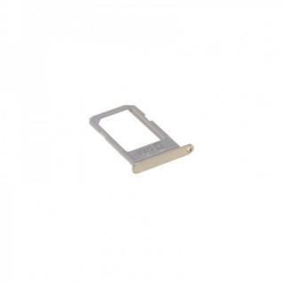 Sim Karten Halter Gold für Schlitten Adapter Samsung Galaxy S6 Edge Plus G928 F