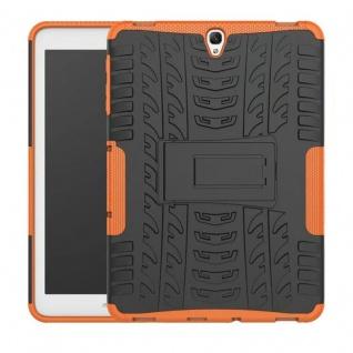 Hybrid Outdoor Schutzhülle Orange für Samsung Galaxy Tab S3 9.7 T820 Tasche Neu