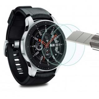 2x 2.5D H9 Hart Glas Tempered Folie für Samsung Galaxy Watch 42 mm R810 / R815