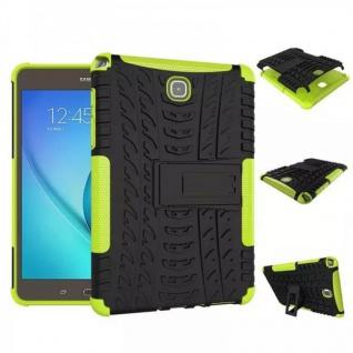 Hybrid Outdoor Schutzhülle Cover Grün für Samsung Galaxy Tab A 9.7 T550 Tasche