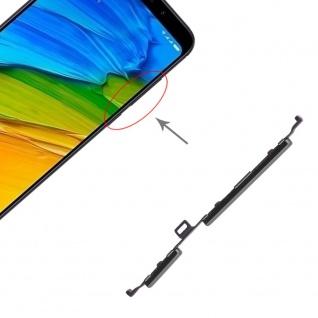 Power & Lautstärke Button Schwarz für Xiaomi Redmi 5 Plus Zubehör On Off Ersatz