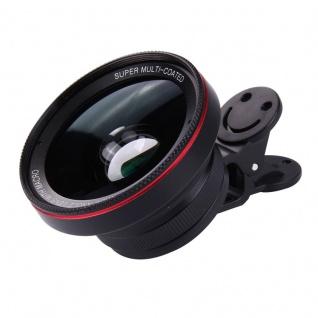 Universal Kamera Makro Weitwinkel Fischauge Objektiv Linse für Smartphone Tablet - Vorschau 3