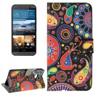Schutzhülle Muster 8 für HTC One 3 M9 2015 Tasche Cover Case Hülle Etui Schutz