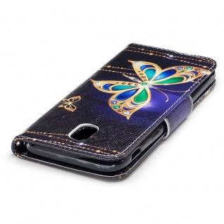 Tasche Wallet Motiv 39 für Samsung Galaxy J5 J530F 2017 Hülle Case Etui Cover - Vorschau 3