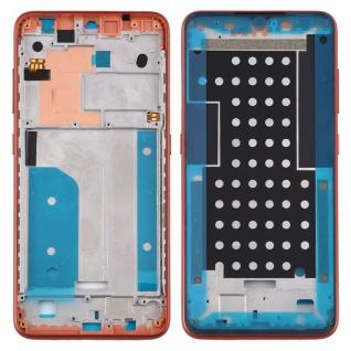 Mittelrahmen für Nokia 7.2 / 6.2 Orange Middle Frame Rahmen Gehäuse Ersatzteil