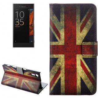 Tasche Wallet Premium Muster 9 für Sony Xperia XZ F8331 Bookcover Hülle Case Neu