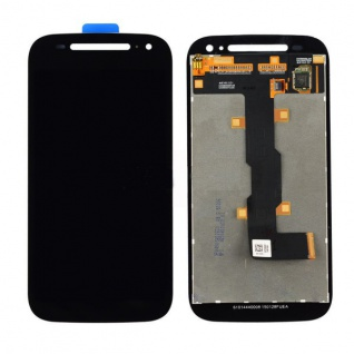Display LCD Komplett Einheit für Motorola Moto E 4G 2. Gen XT1524 Schwarz Ersatz
