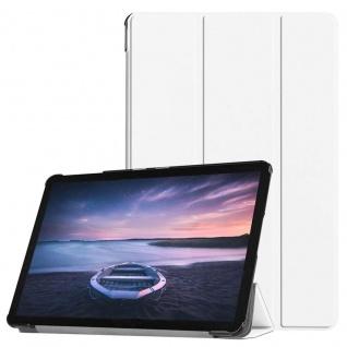 Smart Cover Weiß Tasche für Samsung Galaxy Tab S4 10.5 T830 T835 Hülle Wake Up