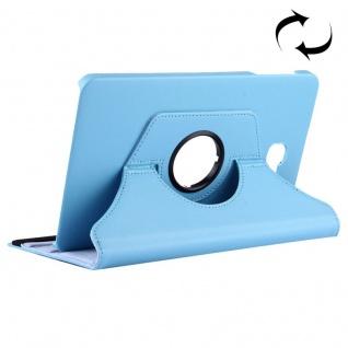 Schutzhülle 360 Grad Hellblau Tasche für Samsung Galaxy Tab A 10.1 T580 / T585